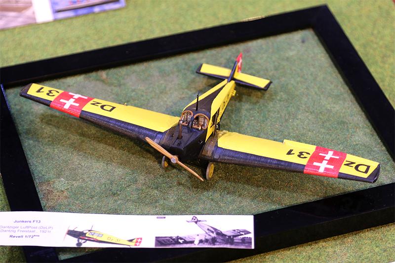 Fil rouge 2019 : Junkers F.13 - (Revell 1/72) *** Terminé en pg 4 Img_1411