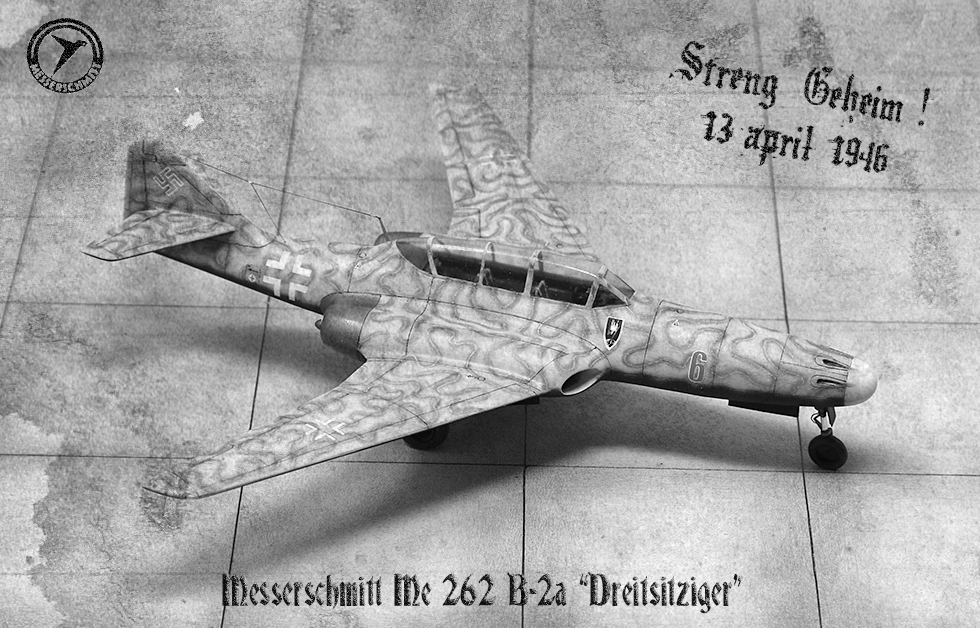 "Messerschmitt Me.262 B-2a ""Three-seat night fighter"" (Special Hobby #72006) - Page 3 Img_1651"