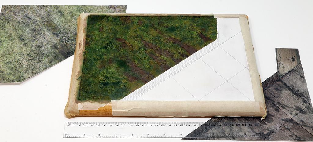 "Diorama, base ""Dessau Luftwaffe hardstand"" deluxe edition (Uschi 1/72) Img_7835"