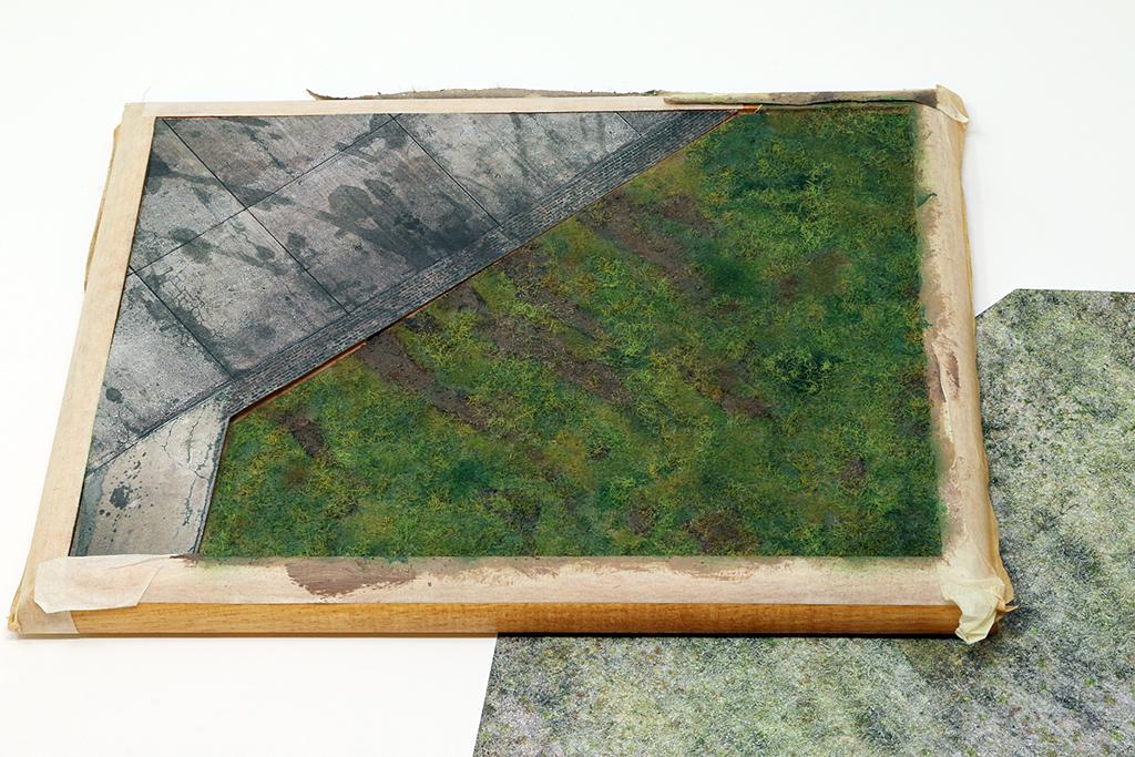"Diorama, base ""Dessau Luftwaffe hardstand"" deluxe edition (Uschi 1/72) Img_7837"