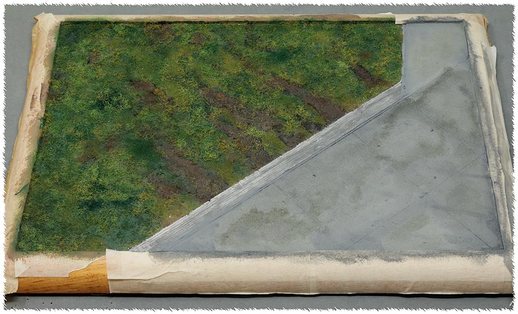 "Diorama, base ""Dessau Luftwaffe hardstand"" deluxe edition (Uschi 1/72) Img_7844"