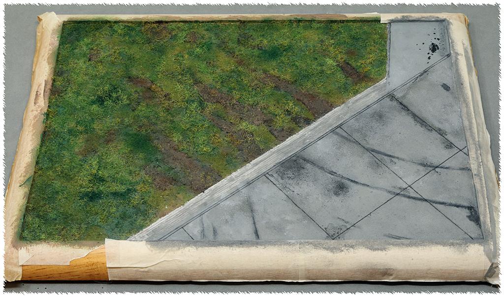 "Diorama, base ""Dessau Luftwaffe hardstand"" deluxe edition (Uschi 1/72) Img_7845"