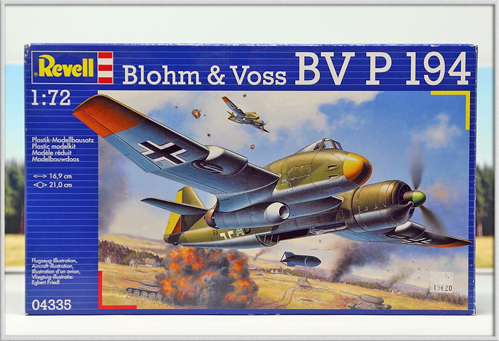 Blohm und Voss BV P 194, Front de l'est 46 (1:72 Revell) Img_7926
