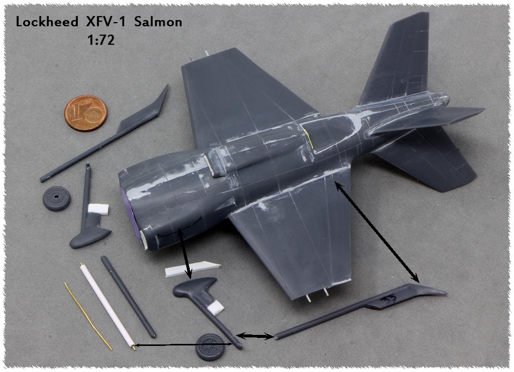 "Lockheed XFV-1 ""Salmon"" (1:72 -Valom) Img_9824"