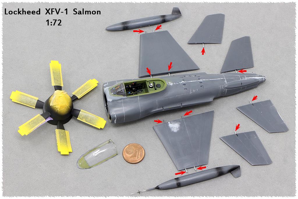 "Lockheed XFV-1 ""Salmon"" (1:72 -Valom) Img_9825"