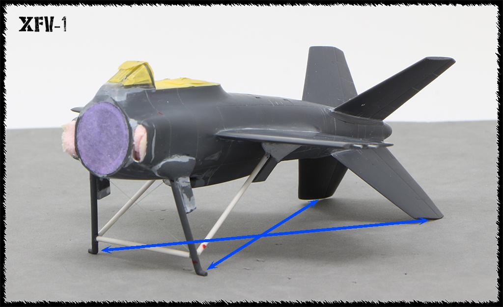"""Lockheed XFV-1 """"Salmon"""" (1:72 -Valom) - Page 2 Img_9912"""