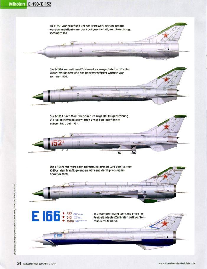 Mikoyan-Gourevitch E-152M  - Modelsvit #72030 - 1/72ème. Klassi11