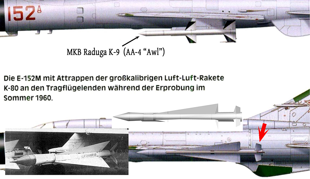 Mikoyan-Gourevitch E-152M  - Modelsvit #72030 - 1/72ème. Missil11