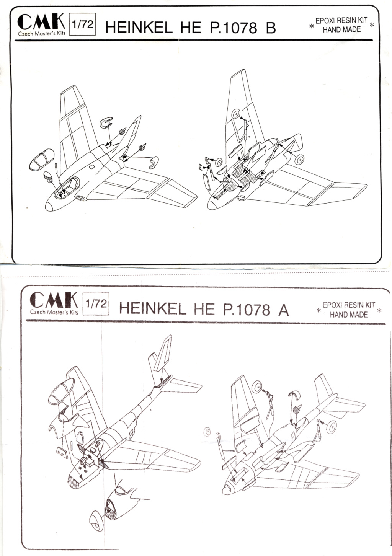 Heinkel He P.1078 A+B (CMK) Notice15