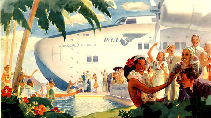 "Boeing 314 ""Honolulu Clipper"" - Page 2 Panam10"