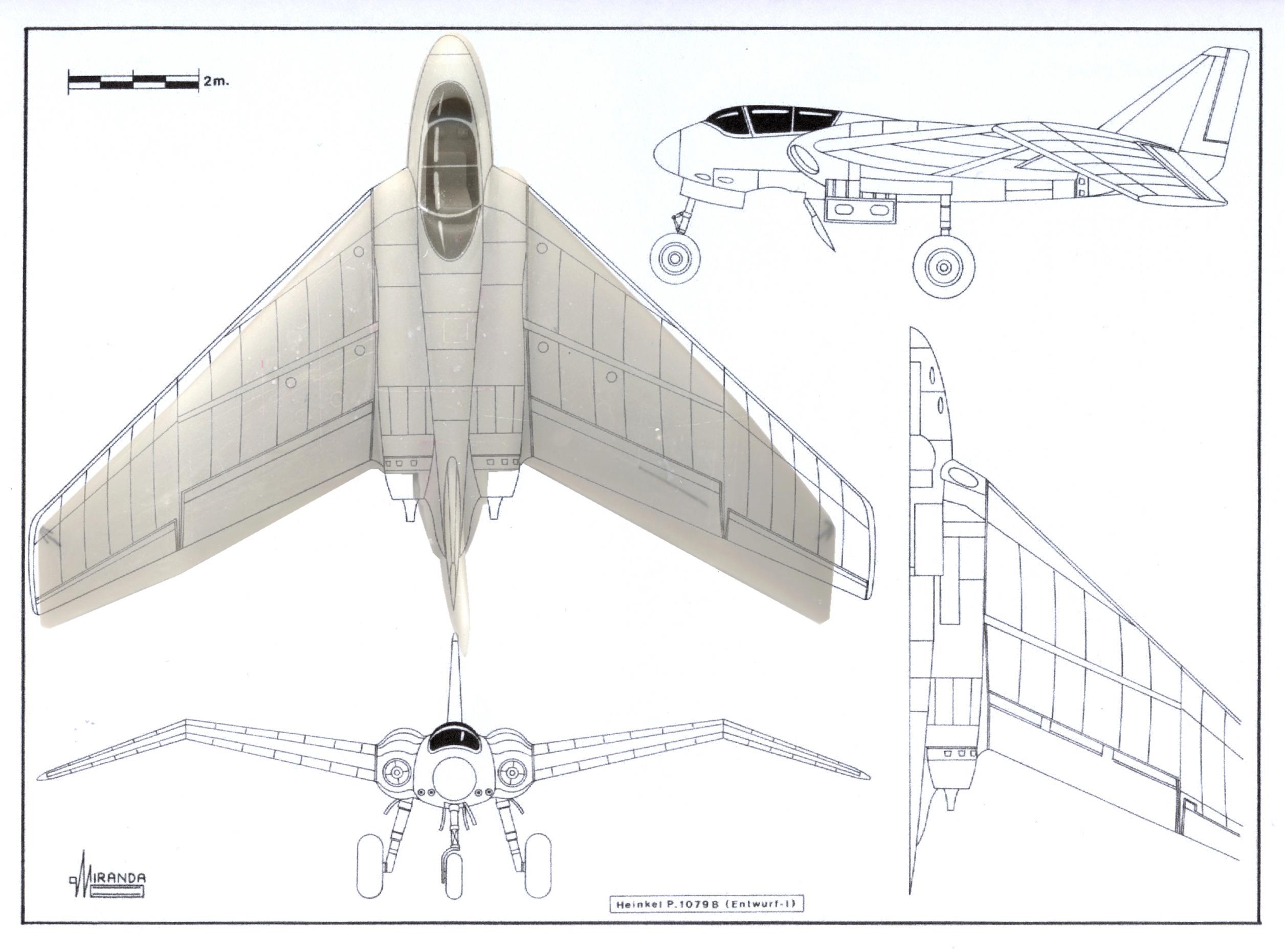 Heinkel He P.1078 A+B en doublette (1:72, CMK) Plan_p11