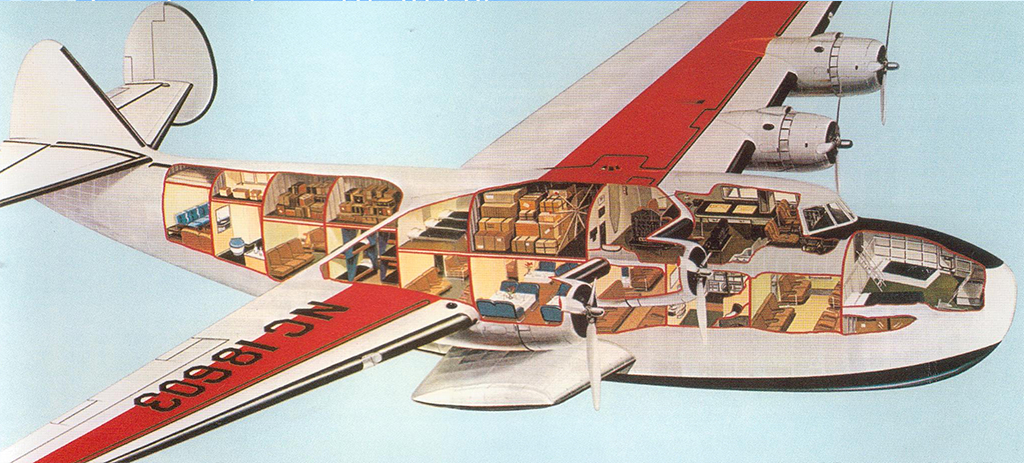 "Boeing 314 ""Dixie Clipper"" 1939-1950 (/1/144 Minicraft) - Page 2 Pont_c10"