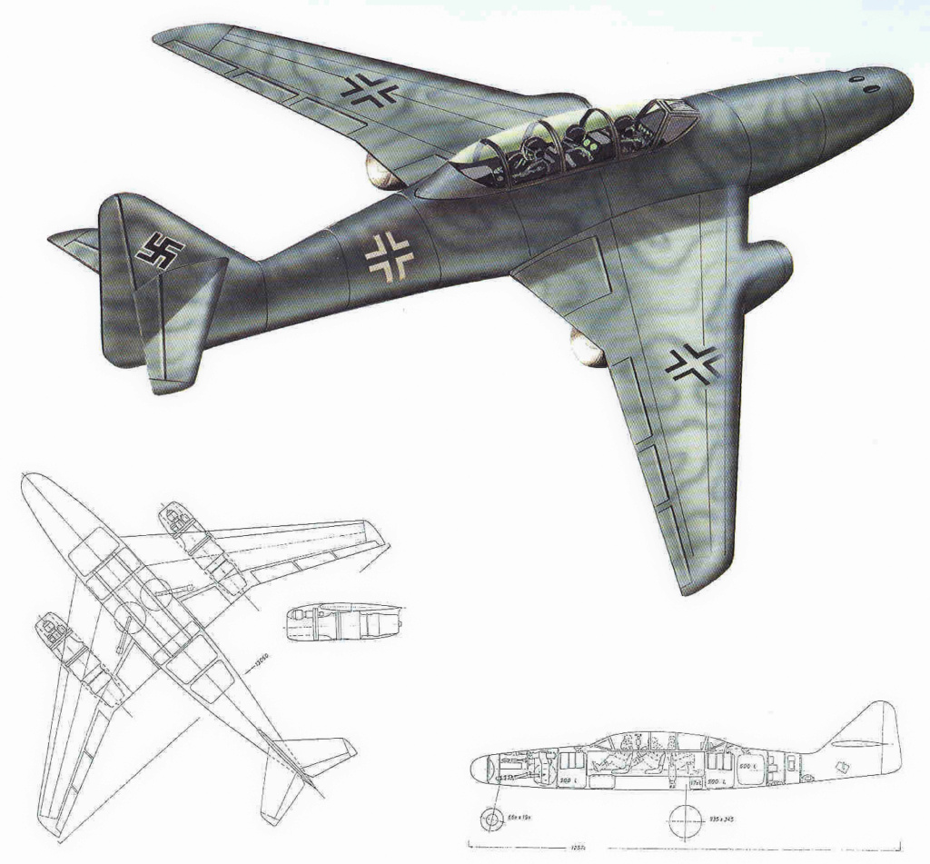 "Messerschmitt Me.262 B-2a ""Three-seat night fighter"" (Special Hobby #72006) - Page 3 Projet12"