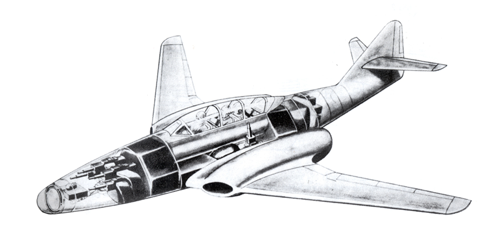 "Messerschmitt Me.262 B-2a ""Three-seat night fighter"" (Special Hobby #72006) - Page 3 Projet13"