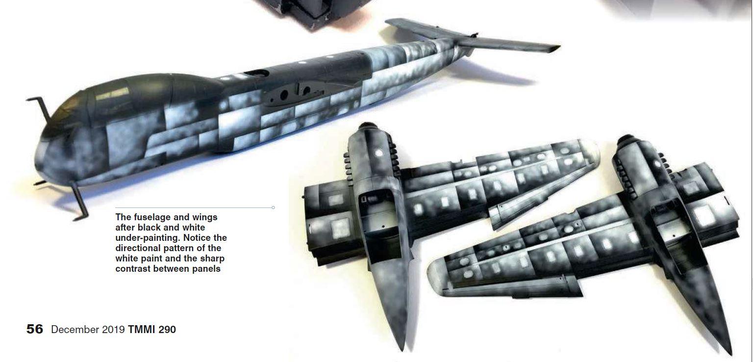 """Messerschmitt Me.262 B-2a """"Nachtjäger"""" 3 places (Special Hobby #72006) Przoom10"""