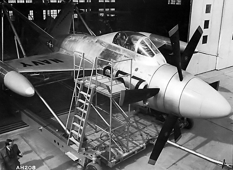 "Lockheed XFV-1 ""Salmon"" (1:72 -Valom) Xfv1_011"