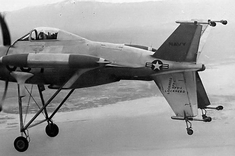 "Lockheed XFV-1 ""Salmon"" (1:72 -Valom) Xfv1_210"