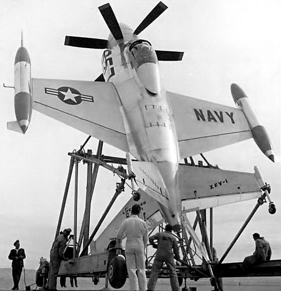 """Lockheed XFV-1 """"Salmon"""" (1:72 -Valom) - Page 2 Xfv1_310"""