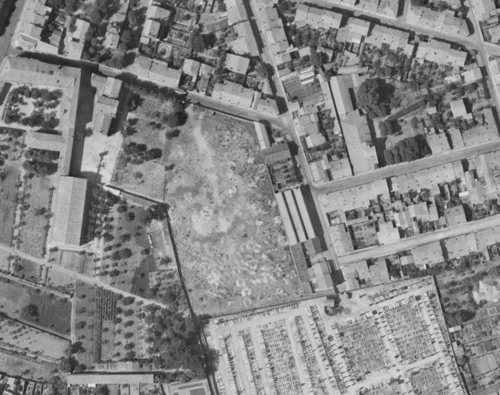 Identification/Localisation d'un cimetière de guérilleros espagnols 110