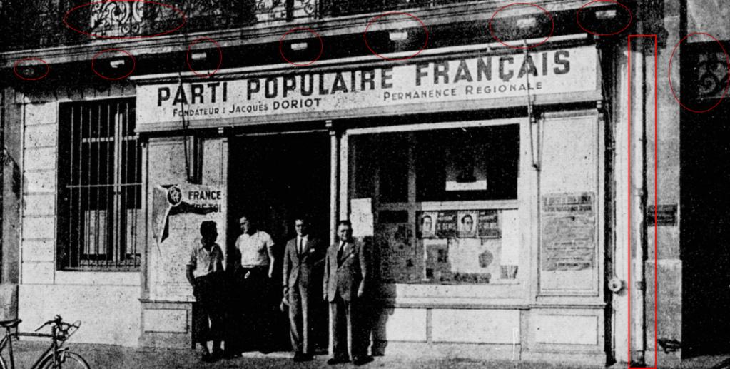 Identification Permanence PPF de Doriot / Parti Populaire Français 2020-012