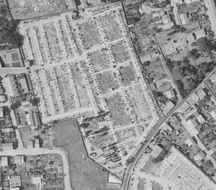 Identification/Localisation d'un cimetière de guérilleros espagnols 210