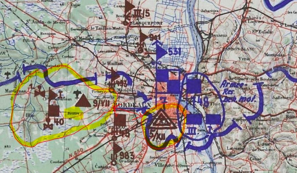 Aérodrome dans le sud de Bordeaux .. Leitfliegerhorst Captur13