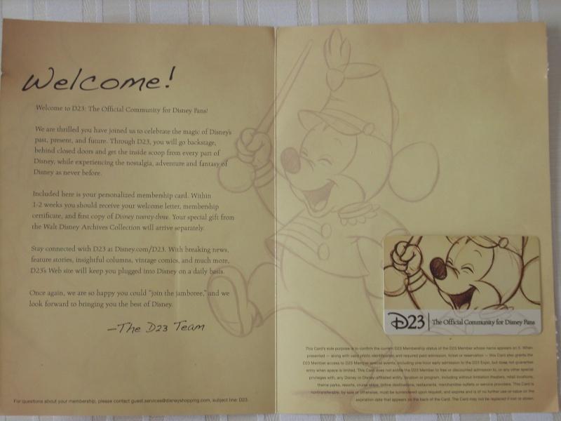Disney Twenty Three (D23) : le magazine - Page 6 Dscn6210