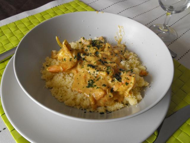 Curry de gambas au lait de coco Dscf6213