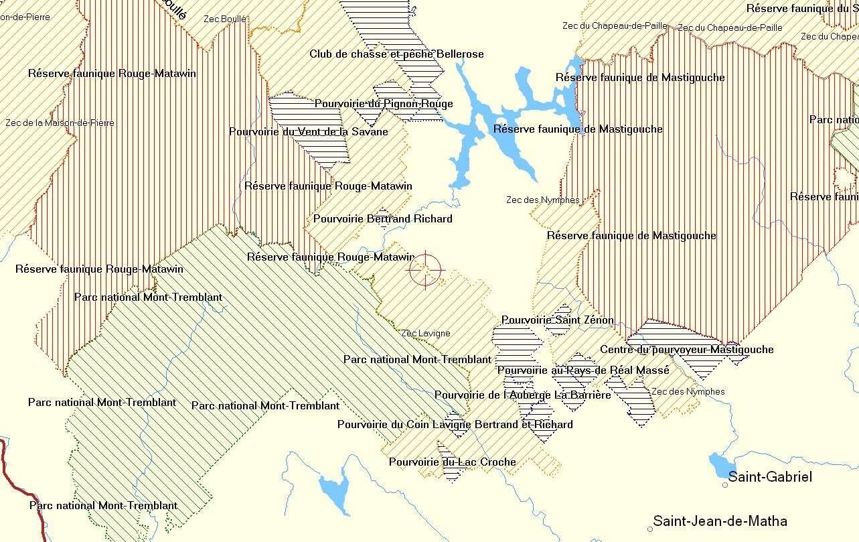 Territoires du Québec à télécharger sur Map Source Clipbo59