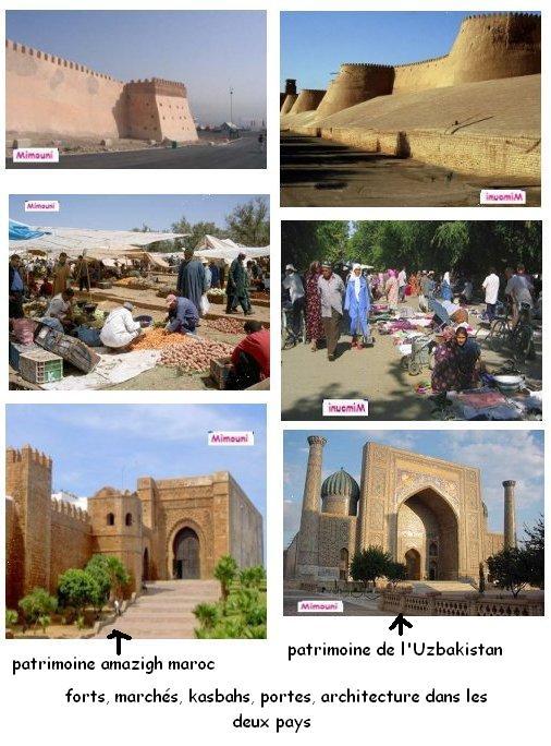Vacances  Maroc - Similitude intrigante entre le patrimoine Amazigh Maroc et Uzbek Mimoun11