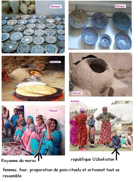 Vacances  Maroc - Similitude intrigante entre le patrimoine Amazigh Maroc et Uzbek Mimoun13