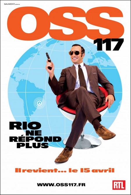 OSS 117 Rio ne répond plus Oss11710