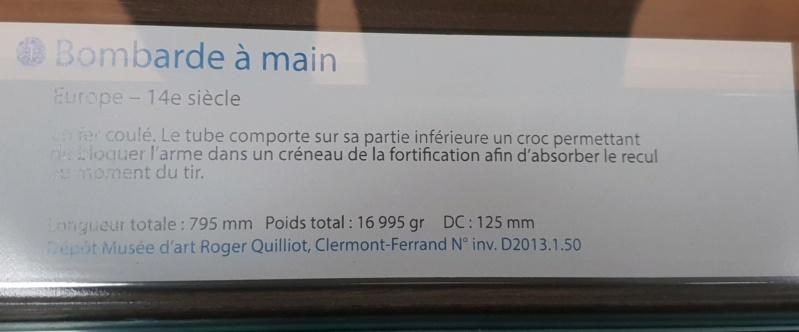 Bombardes du musée d'art et d'industrie de Saint Etienne 20190110
