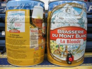 LA BLONDE / BRASSERIE DU MONT BLANC - FRANCE 00911