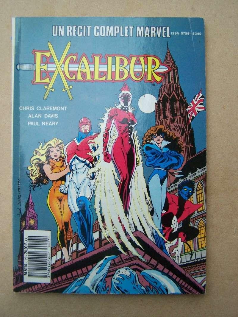 """#23 Rècit complet Marvel  """"EXCALIBUR"""" 100_3419"""