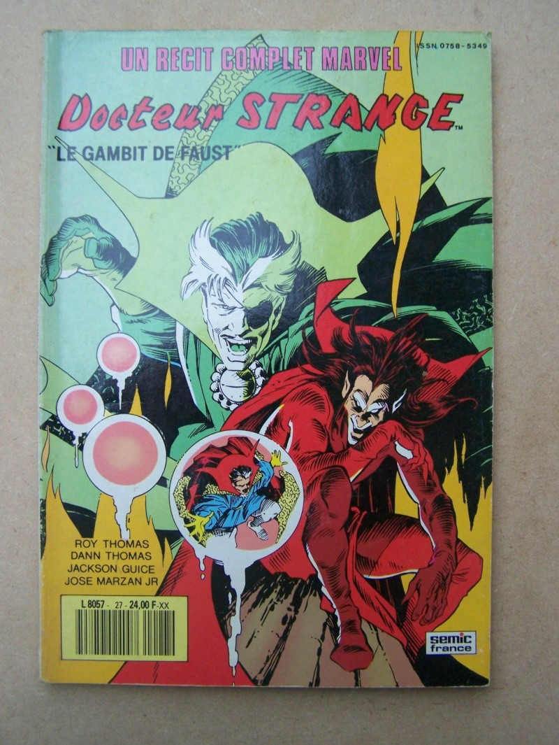 """#27 Rècit complet Marvel  """"DOCTEUR STRANGE Le gambit de faust"""" 100_3422"""