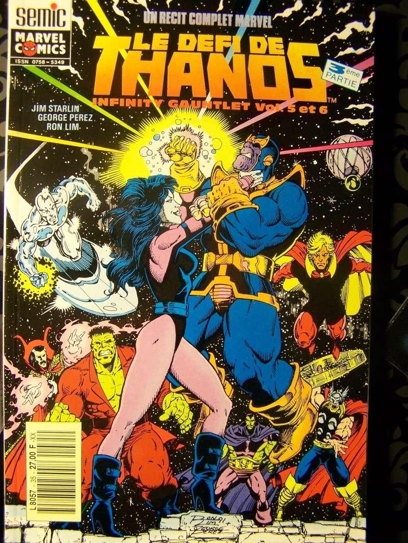 """#35 Rècit complet Marvel  """"LE DEFI DE THANOS"""" 3ème partie 100_3814"""
