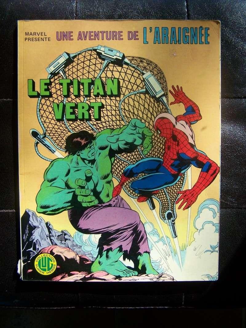 "#06 Une aventure de l'araignée  ""Le titan vert."" 100_3926"