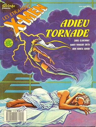 """#11 Les étranges X-Men  """"Adieu Tornade"""" 1110"""