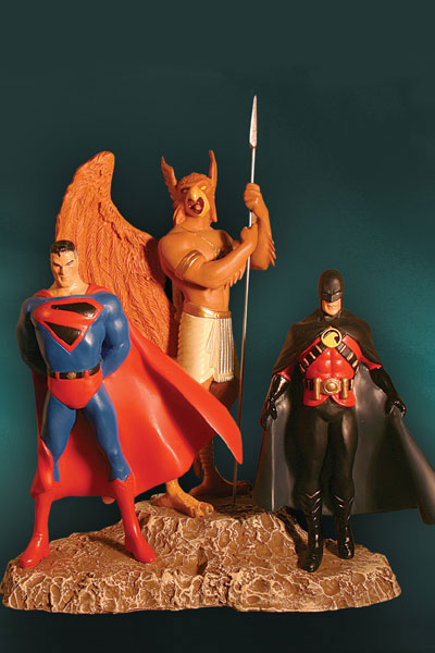 KINGDOM COME: SUPERMAN, HAWKMAN & RED ROBIN Statue 3316_a10