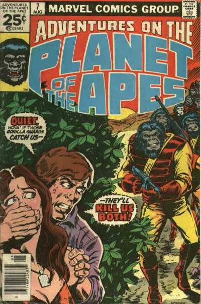 #07 La planète des singes 7-910