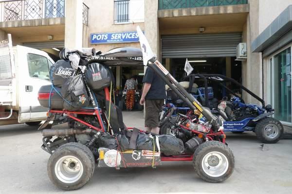 Le buggy trophy 2009 ; la Corse Troph109