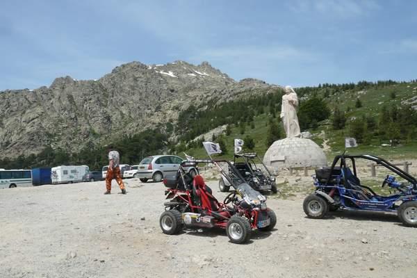 Le buggy trophy 2009 ; la Corse Troph125