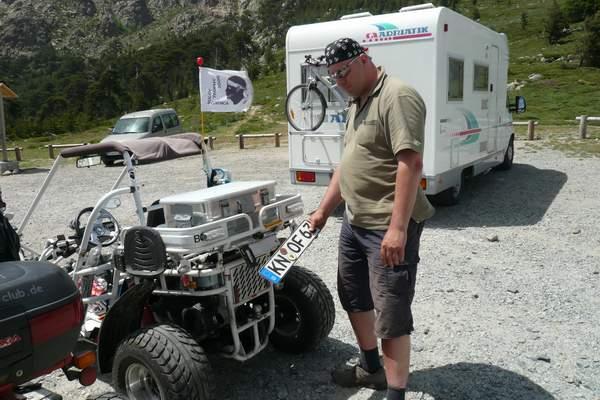 Le buggy trophy 2009 ; la Corse Troph129