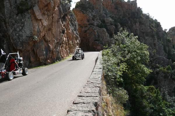 Le buggy trophy 2009 ; la Corse Troph135