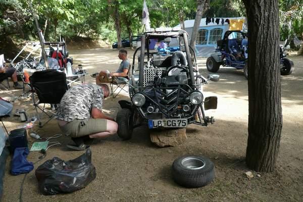 Le buggy trophy 2009 ; la Corse Troph138