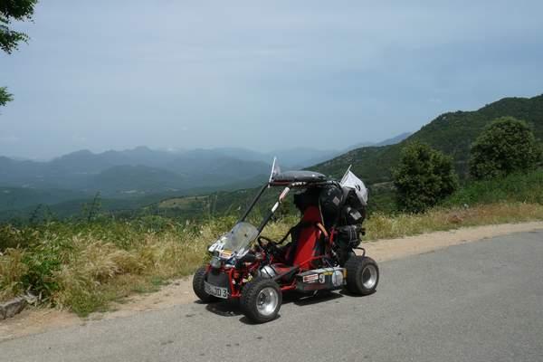 Le buggy trophy 2009 ; la Corse Troph145