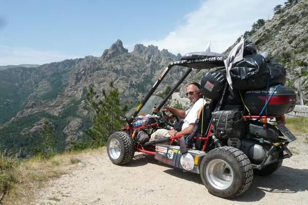 Le buggy trophy 2009 ; la Corse Troph174