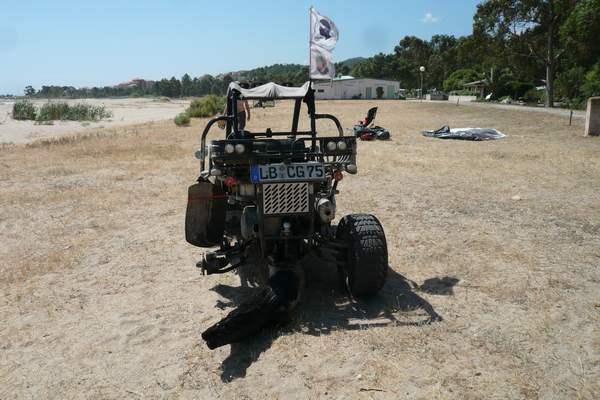 Le buggy trophy 2009 ; la Corse Troph199