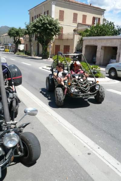 Le buggy trophy 2009 ; la Corse Troph205